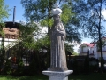 Dievo motinos skulptūra papuošė Šventąją