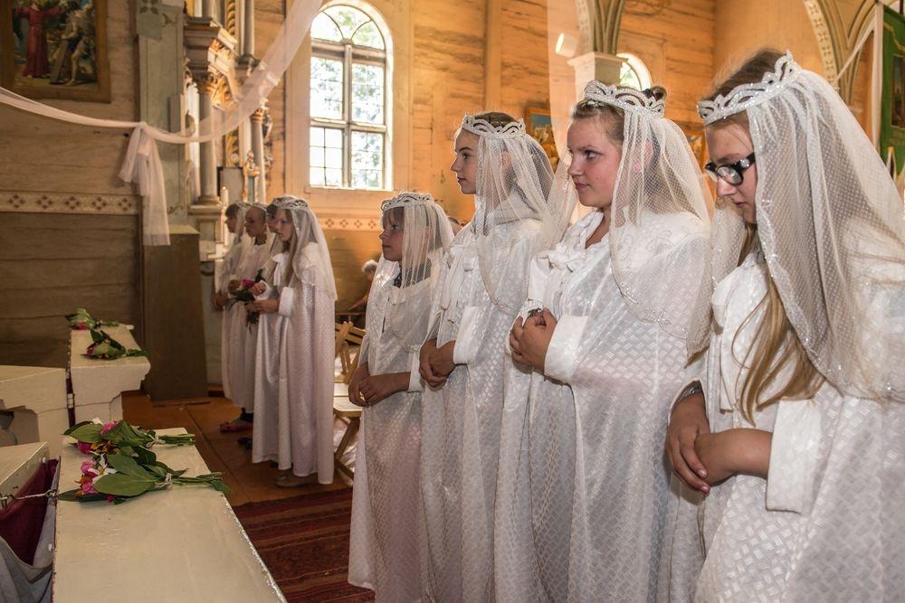 Karmelio kalno Švč. Mergelės Marijos (Škaplierinės) iškilmė Laukžemėje