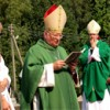 Šv. Andriejaus skulptūros pašventinimas Laukžemės parapijoje