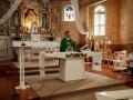 Pašventinti Laukžemės šv. apaštalo Andriejaus parapijos namai