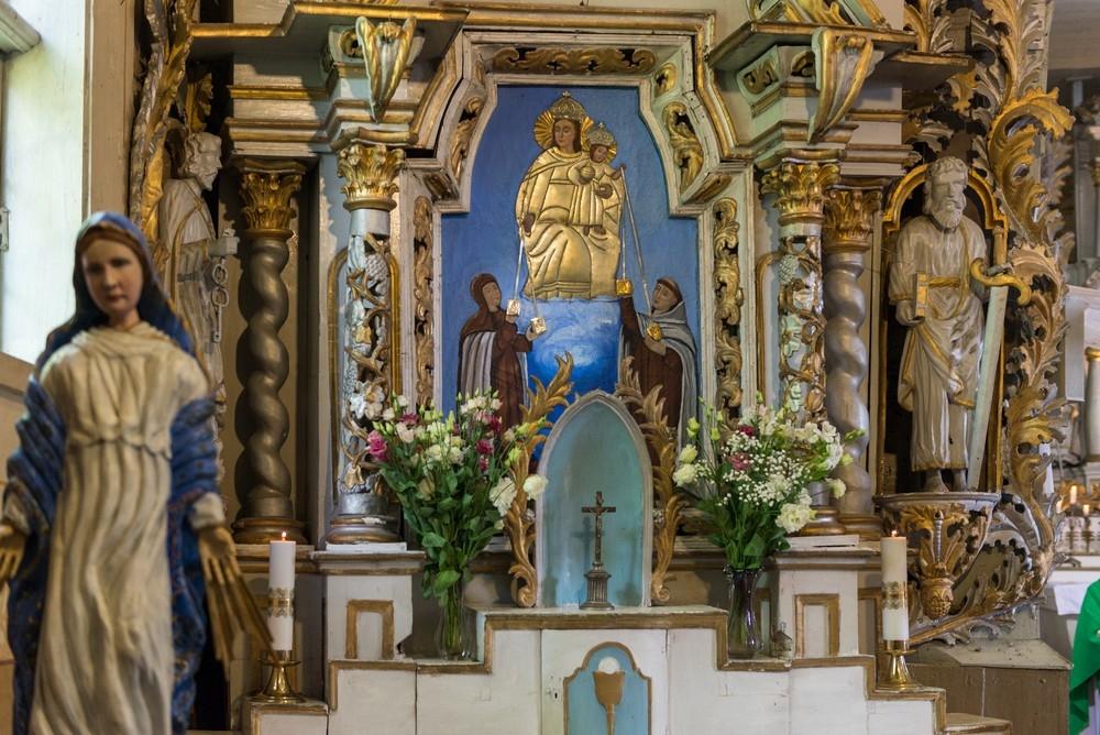 Švenčiausios Mergelės Marijos Škaplierinės atlaidai Laukžemėje