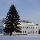 Laukžemėje šv. apaštalo Andriejaus aikštėje papuošta Kalėdinė eglė