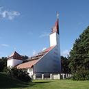 Perdažyta Šventosios Švč. Mergelės Marijos Jūrų Žvaigždės bažnyčia